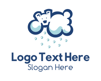 Cold - Polar Cloud logo design