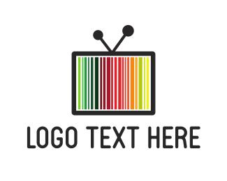 Television Code  logo design