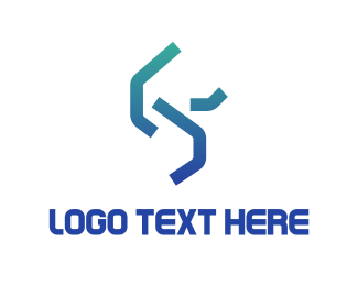 Chain - Abstract Tech logo design
