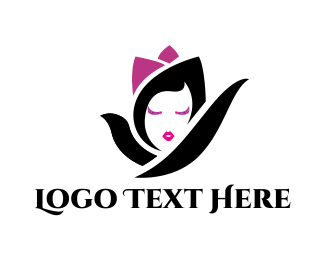 Cosmetics - Flower Girl logo design
