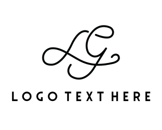G - Luxury Letter L&G logo design