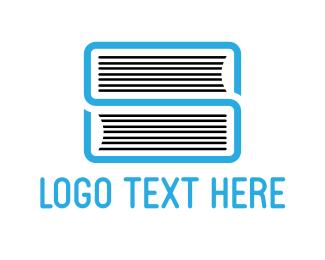 Notebook - Book Letter S logo design