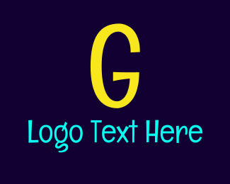 Friendly - Bright Yellow G logo design