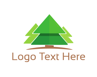 Pine Tree - Pine Trees logo design
