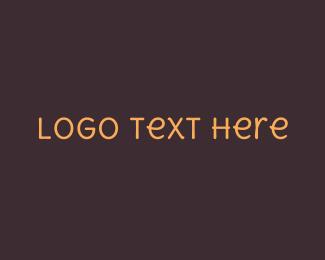 Hand-drawn - Friendly Handwritten Text logo design