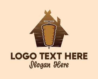 Turkey - Doner Kebab logo design