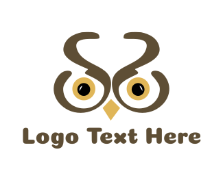 Black And Brown - Brown Owl logo design