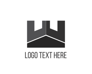 Black And Gray - Black Tower logo design