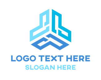 Programming - Modern Tech L logo design