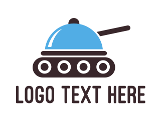 Gourmet - Food Tank logo design