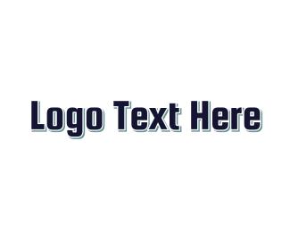 Gymnasium - Bulky & Blue logo design
