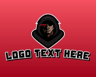 Assassin - Hood Strange Man logo design