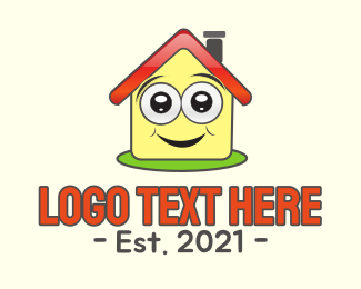 Learning - Happy House logo design