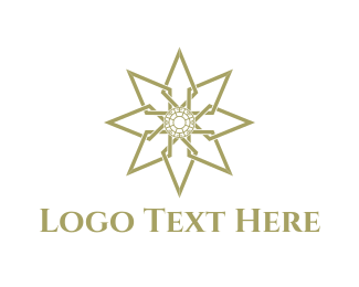 Elegance - Golden Star logo design