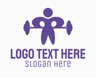 Personal Trainer - Gym Man logo design
