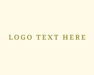 Antique - Gold Classic logo design