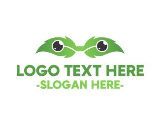 Nerd - Eco Eyeglasses logo design