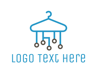 Hanger - Tech Hanger logo design