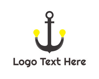 Lighting - Anchor Lighting logo design