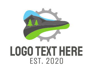 Bicycle - Mountain Bike logo design