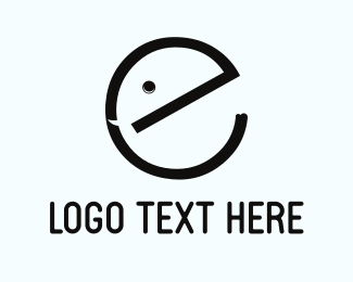 Trunk - Cute Letter E logo design