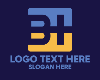 Letter B - B Plus logo design