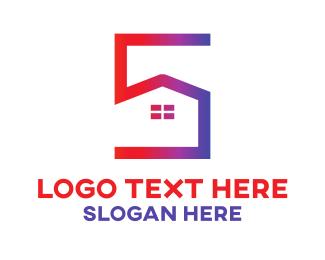 Realtor - House Number 5 logo design