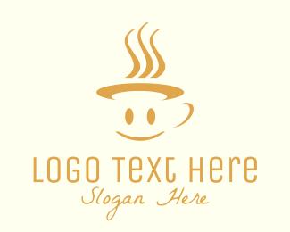 Cup - Happy Mug logo design