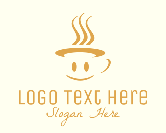 Coffee - Happy Mug logo design