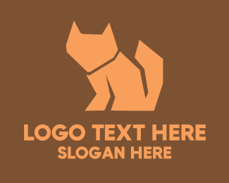 Kitten - Black Fox logo design