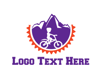 Playful - Mountain Bicycle logo design