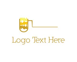 Pipe - Yellow Pipe logo design