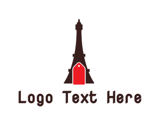 Eiffel - Eiffel Tower Tag logo design