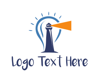 Bright - Bright Lighthouse logo design