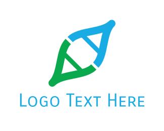 Genetics - Genetic Code logo design