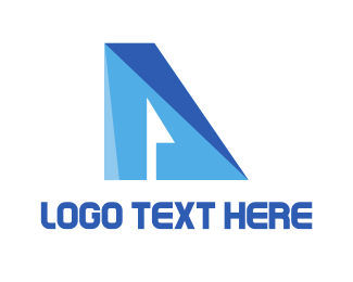 Futuristic - Futuristic Letter A logo design