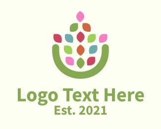 Vase - Flower Pot logo design