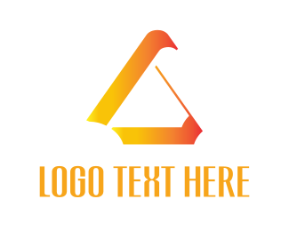 Gradient - Abstract Triangle logo design
