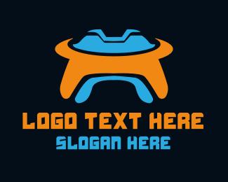 Martian - UFO Gaming logo design
