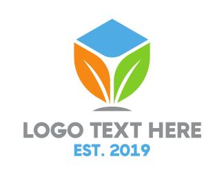 Pharmacist - Colorful Plant logo design