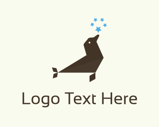 Star Sign - Seal & Stars logo design