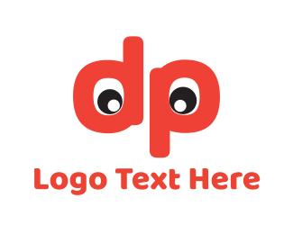 Funny - D & P logo design