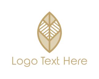 Tribal - Tribal Leaf logo design