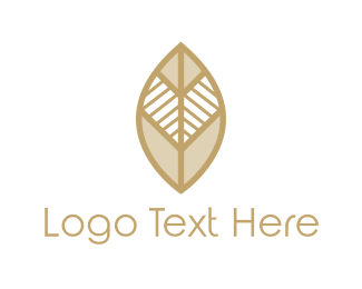 Tribal - Tribal Leaf logo design