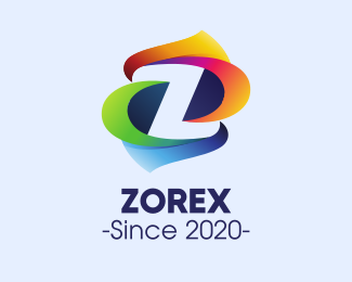 Color Z logo design