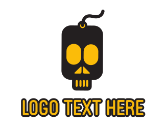 Gaming - Skull Drive logo design