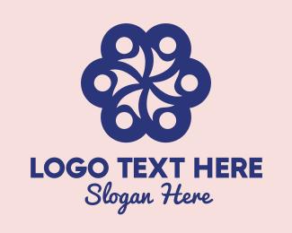 Friends Logo - Crowd Flower logo design