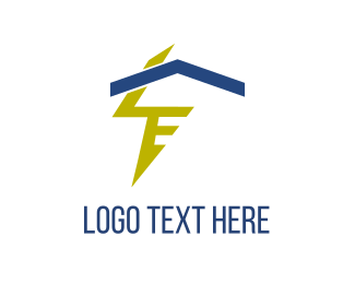 Fast - Electric House logo design