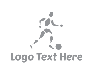 Soccer - Soccer Player logo design