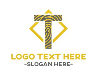 Letter T - Tiger T logo design